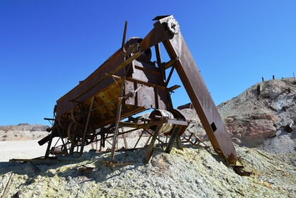 Crater Mine Rotary Screen