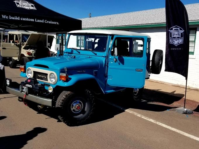 FJ40 FJCo Blue Resto