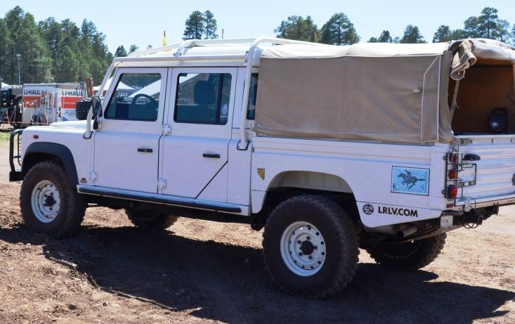 LR D130 Support Vehicle