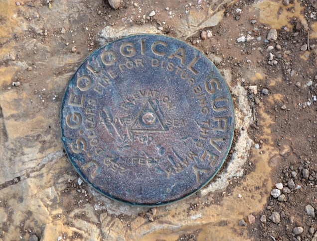 SP geo survey marker