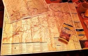 Map Study and Planning North Rim