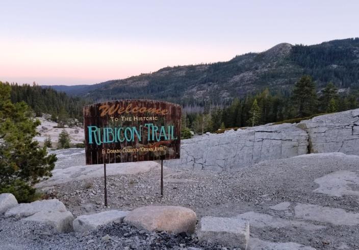 Trail Entrance