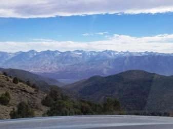Sierra from White Mts