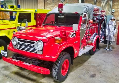 55 series fire truck
