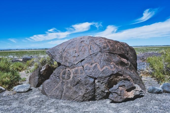 Grimes Point Petroglyph 1