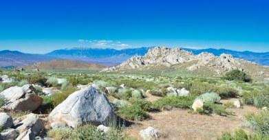 Tungsten Hills & White Mtns
