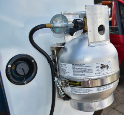 Powertank propane mount